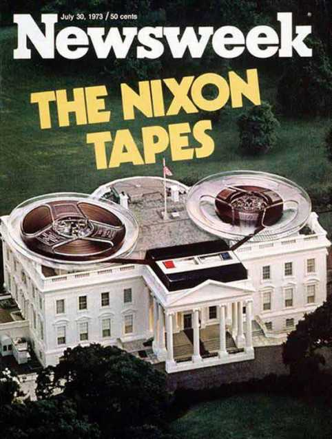 White House as a reel to reel