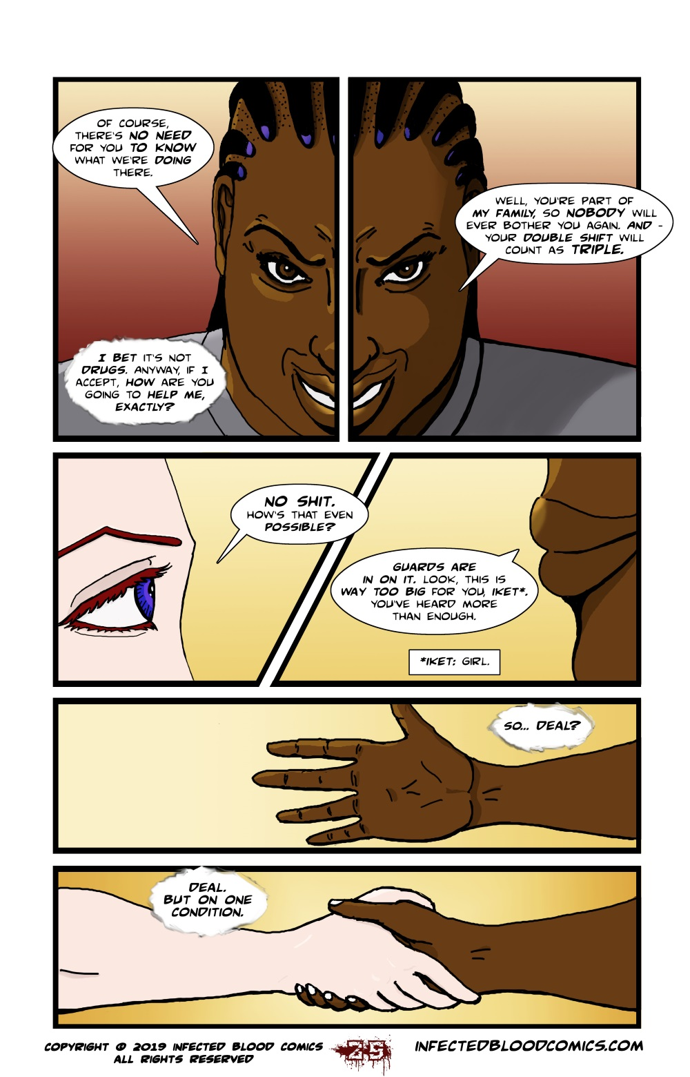 Infected Blood Chapter 2 Page 25