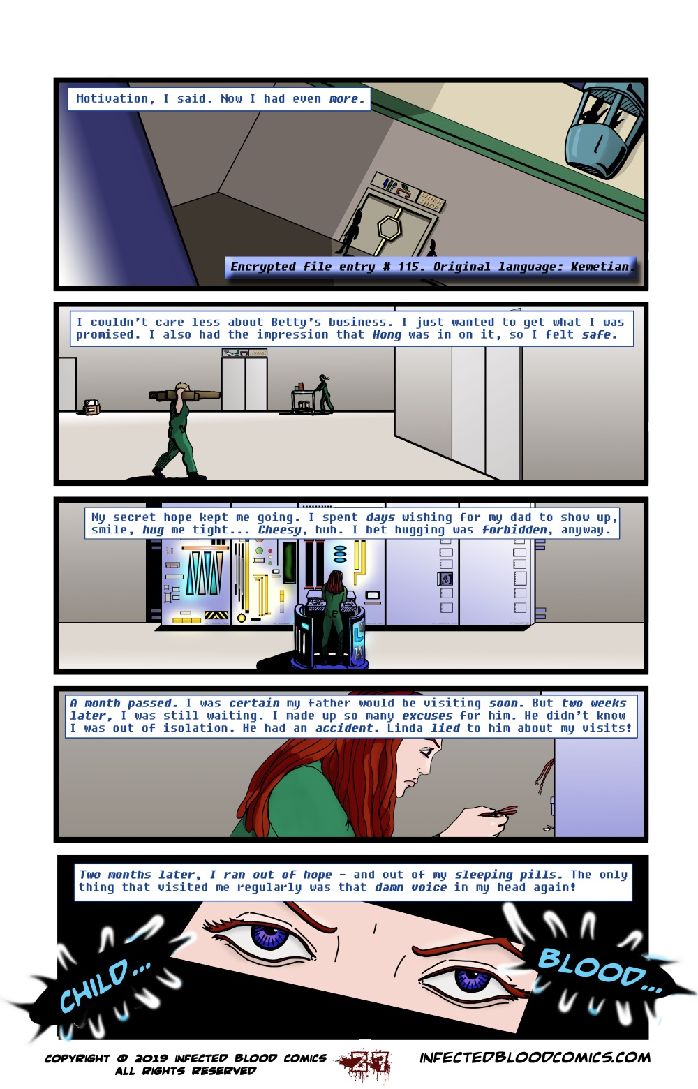 Infected Blood Chapter 2 Page 27