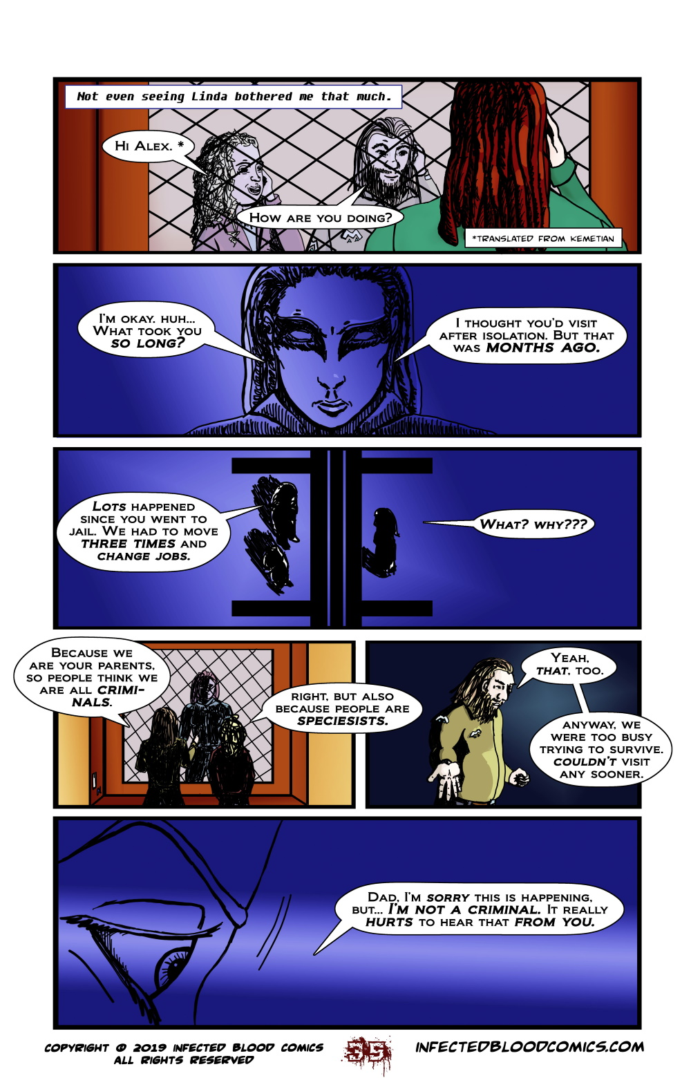 Infected Blood Chapter 2 Page 35