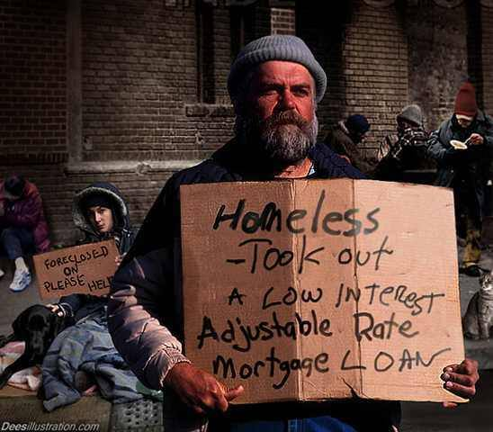 homeless debt
