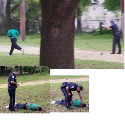unarmed black mandead
