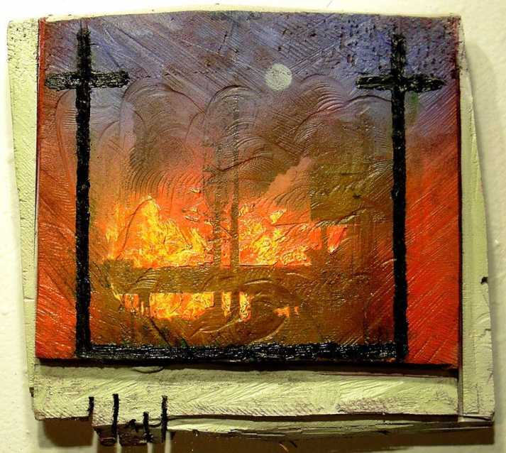 painting jack chevalier burning bridges 2009