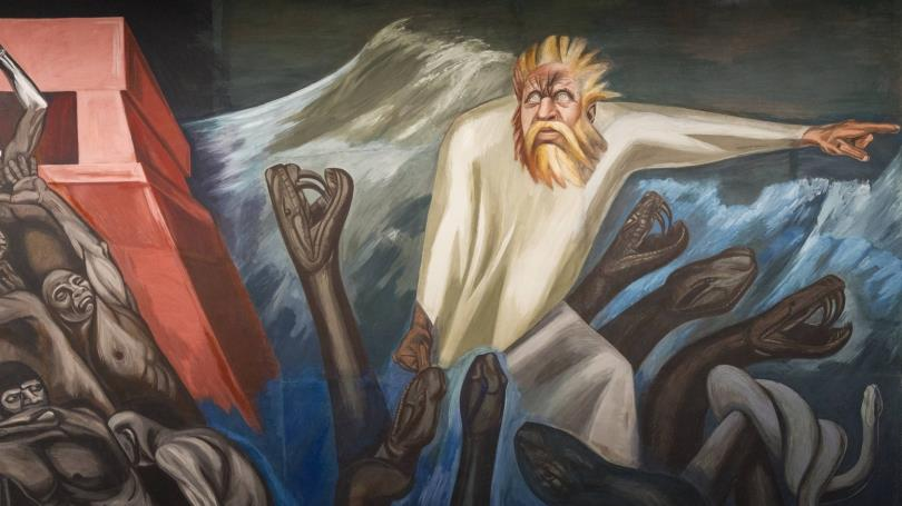painting Jose Clemente Orozco
