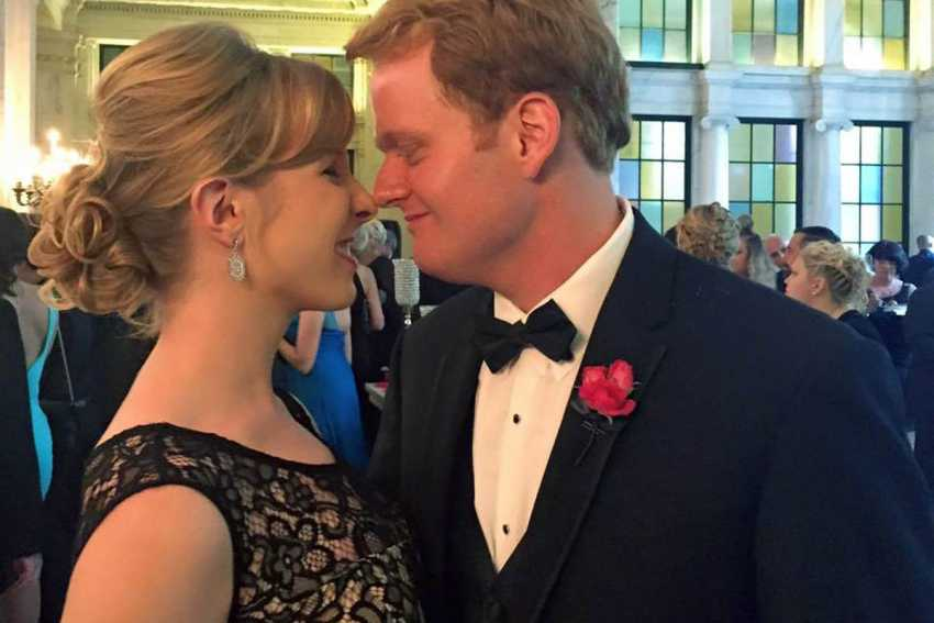 Alison Parker and fiance Chris Hurst
