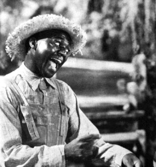Bill Bojangles Robinson as happy slave