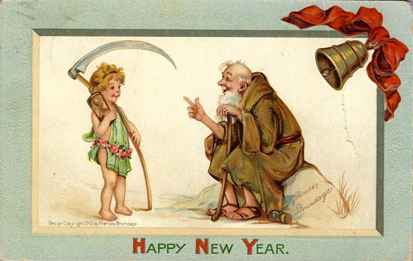 Father Time and Baby New Year