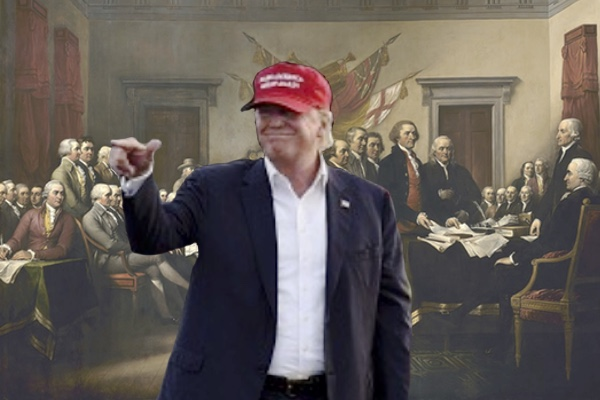 Founding fathers and Trump