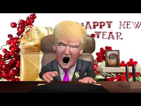 Happy New Year From Donald Trump