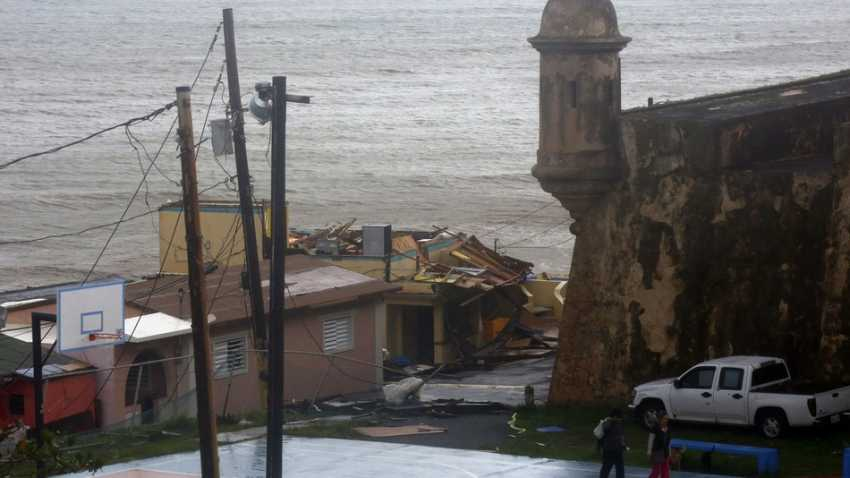 Hurricane Maria in San Juan