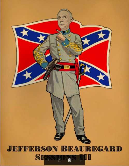 Jefferson Beauregard Sessions Confederate