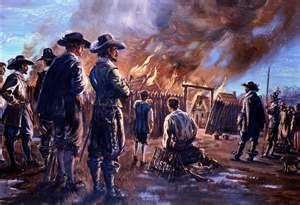 Nathaniel Bacon Burning of Jamestown