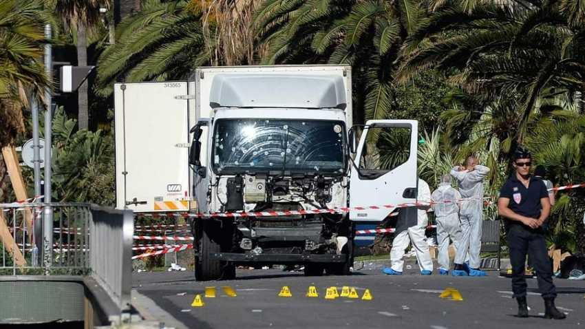 Nice France attack truck