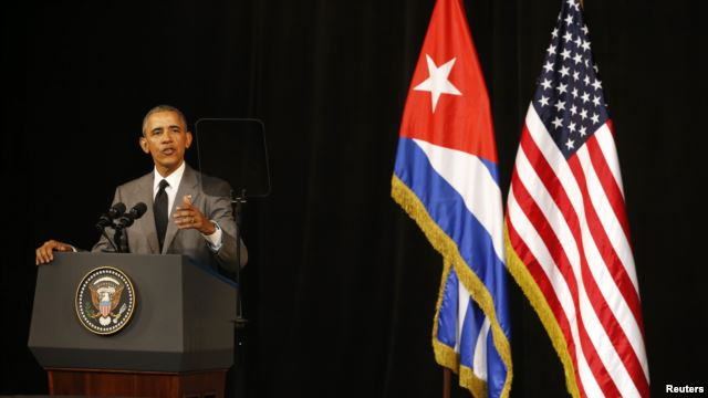 Obama speech Cuba