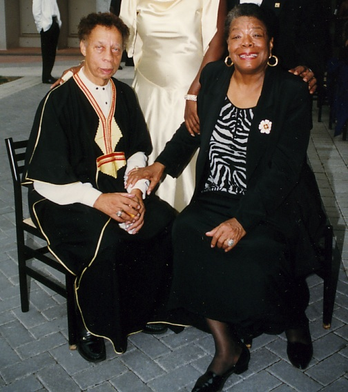 Richard A. Long and Maya Angelou