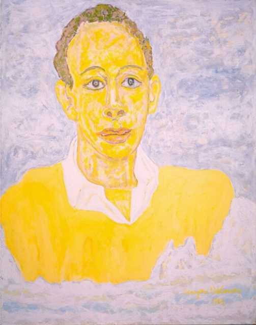 Richard A. Long painted by Beauford Delaney