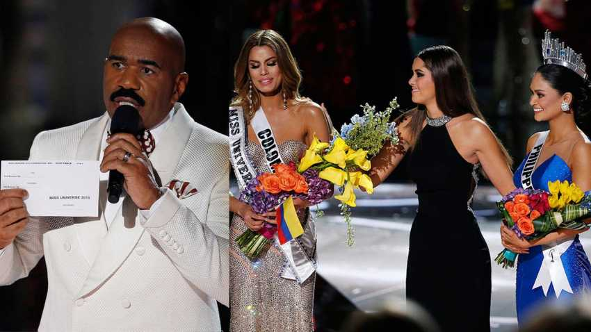 Steve Harvey beauty pagent