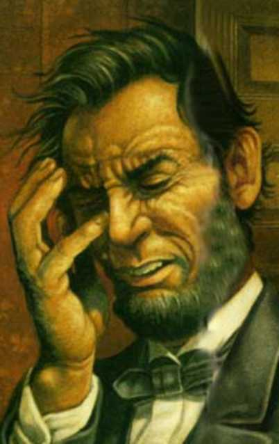 lincoln facepalm