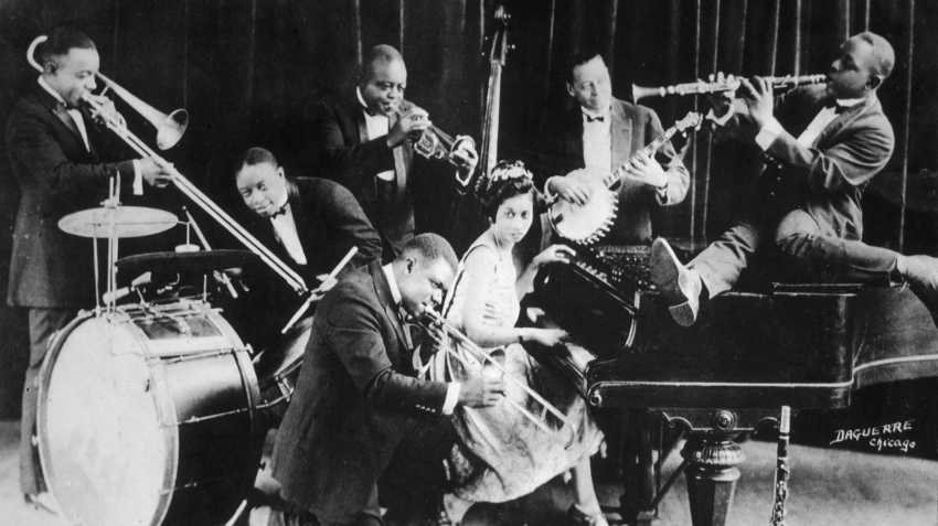 King Olivers Creole Jazz Band in Chicago in 1923
