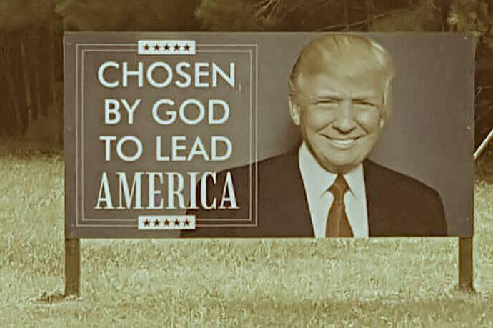 Trump chosen by god