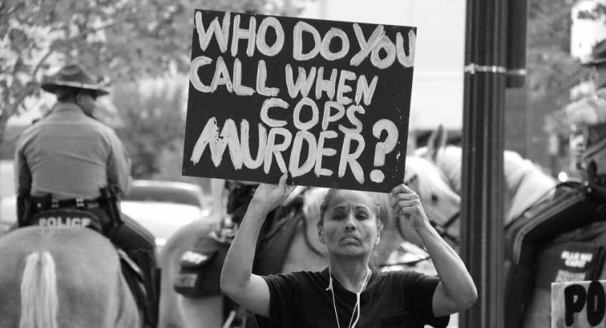 Who do you call when cops murder