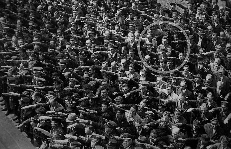Be THIS guy August Landmesser Almanya 1936