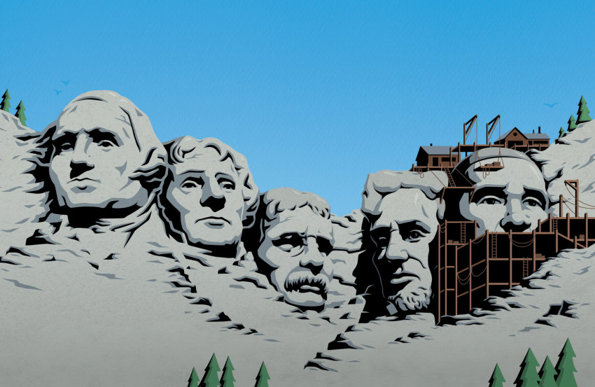 Mount Rushmore Obama