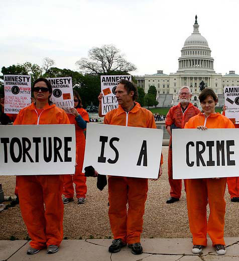 Torture is a crime