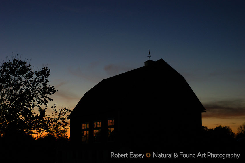 Barn at Twilight