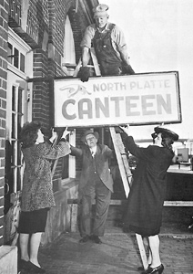 North Platte Canteen sign